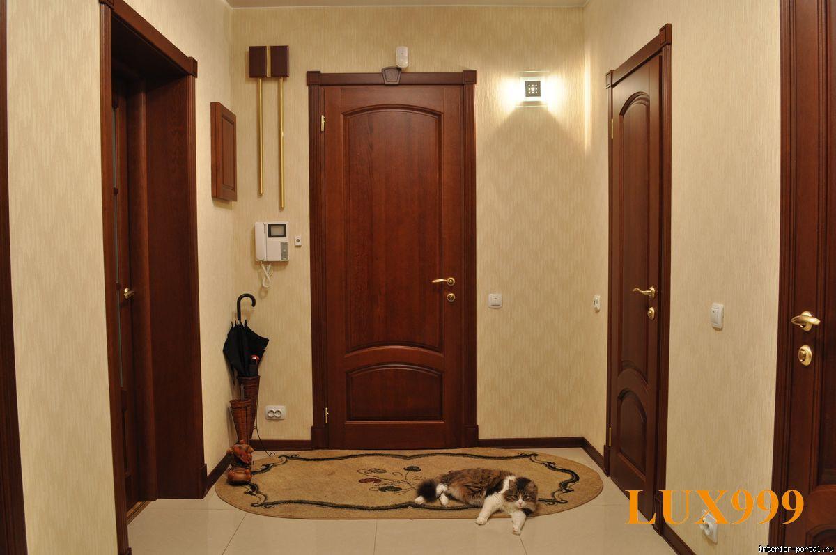 Двери в прихожей фото
